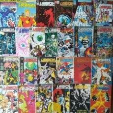 Cómics: LEGION DE SUPER HEROES 30 GRAPAS DE 31 MAS DOS ESPECIALES. Lote 266793549