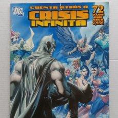 Cómics: CRISIS INFINITA DC ZINCO. Lote 266808669