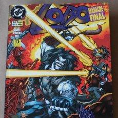 Comics : LOTE RESERVADO 2 DE 3 CRILORE16 ---- LOBO: MASACRE FINAL - ED ZINCO, AÑO 1996 - MUY BUEN ESTADO. Lote 266859264