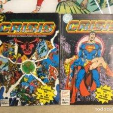 Cómics: 2 TOMOS COMIC -CRISIS EN TIERRAS INFINITAS (REF,70) CONTIENE 4 COMIC CADA TOMO. Lote 266947069