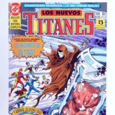 Comics : LOS NUEVOS TITANES 39 (MARV WOLFMAN / TOM GRUMMETT) ZINCO, 1992. CON POSTER. OFRT. Lote 267149349