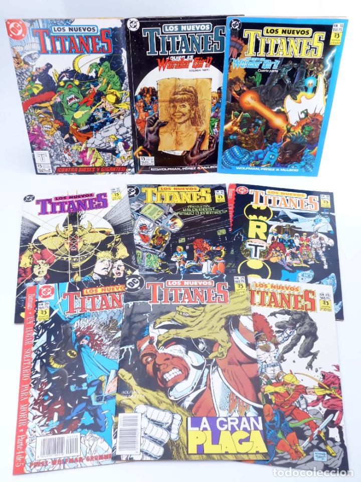 Cómics: LOS NUEVOS TITANES. LOTE DE 22 NÚMEROS (Marv Wolfman / George Pérez) Zinco, 1990. OFRT - Foto 3 - 273898643