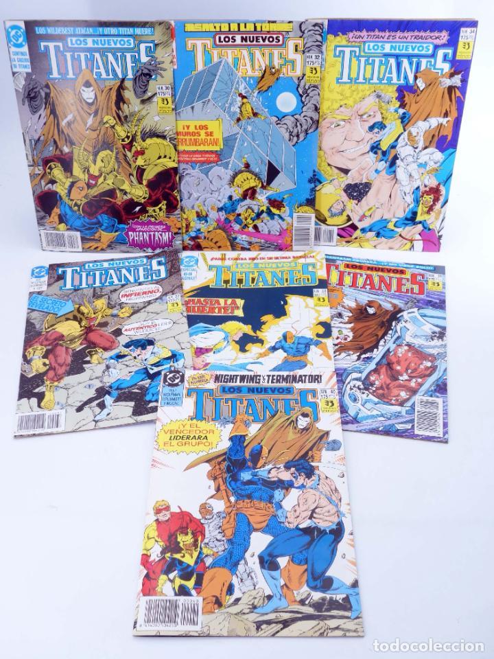 Cómics: LOS NUEVOS TITANES. LOTE DE 22 NÚMEROS (Marv Wolfman / George Pérez) Zinco, 1990. OFRT - Foto 5 - 273898643