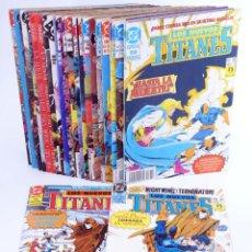 Comics : LOS NUEVOS TITANES. LOTE DE 23 NÚMEROS (MARV WOLFMAN / GEORGE PÉREZ) ZINCO, 1990. OFRT. Lote 267149359