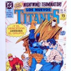 Cómics: LOS NUEVOS TITANES 40 (VVAA) ZINCO, 1992. OFRT. Lote 267149364