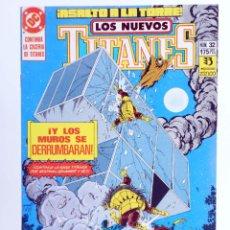 Cómics: LOS NUEVOS TITANES 32. ¡ASALTO A LA TORRE! (MARV WOLFMAN / TOM GRUMMETT) ZINCO, 1992. OFRT. Lote 267149369