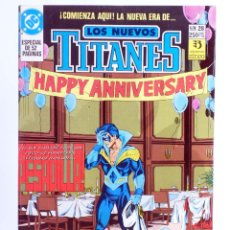 Cómics: LOS NUEVOS TITANES 28 (MARV WOLFMAN / TOM GRUMMETT) ZINCO, 1991. OFRT. Lote 267149374