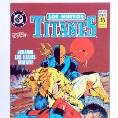 Cómics: LOS NUEVOS TITANES 29. CUANDO LOS TITANES MUEREN (MARV WOLFMAN / TOM GRUMMETT) ZINCO, 1991. OFRT. Lote 267149389