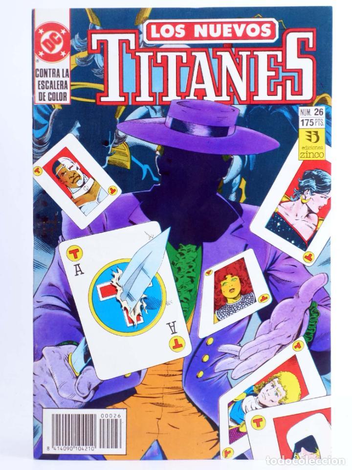 LOS NUEVOS TITANES 26 (KESEL / ERWIN) ZINCO, 1991. OFRT (Tebeos y Comics - Zinco - Nuevos Titanes)