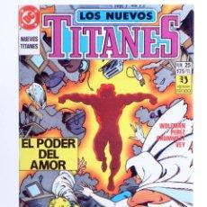 Comics : LOS NUEVOS TITANES 25. EL PODER DEL AMOR (WOLFMAN / PEREZ / GRUMMETT) ZINCO, 1991. OFRT. Lote 267149409