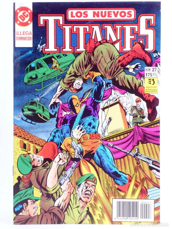 LOS NUEVOS TITANES 27 (KESEL / WOLFMAN / ERWIN) ZINCO, 1991. OFRT (Tebeos y Comics - Zinco - Nuevos Titanes)