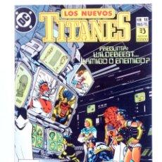 Cómics: LOS NUEVOS TITANES 18 (WOLFMAN / PEREZ / GRUMMETT) ZINCO, 1990. CON POSTER. OFRT. Lote 267149429