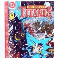 Cómics: LOS NUEVOS TITANES 20 (WOLFMAN / PEREZ / GRUMMETT) ZINCO, 1991. CON POSTER. OFRT. Lote 267149434