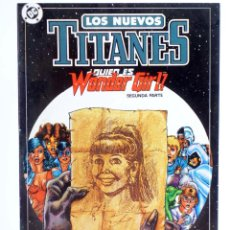 Comics : LOS NUEVOS TITANES 11. ¿QUIEN ES WONDER GIRL? 1ª P. (WOLFMAN / PÉREZ) ZINCO, 1990. CON POSTER. OFRT. Lote 267149444