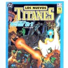 Cómics: LOS NUEVOS TITANES 13. ¿QUIEN ES WONDER GIRL? 4ª P. (WOLFMAN / PÉREZ) ZINCO, 1990. CON POSTER. OFRT. Lote 267149454