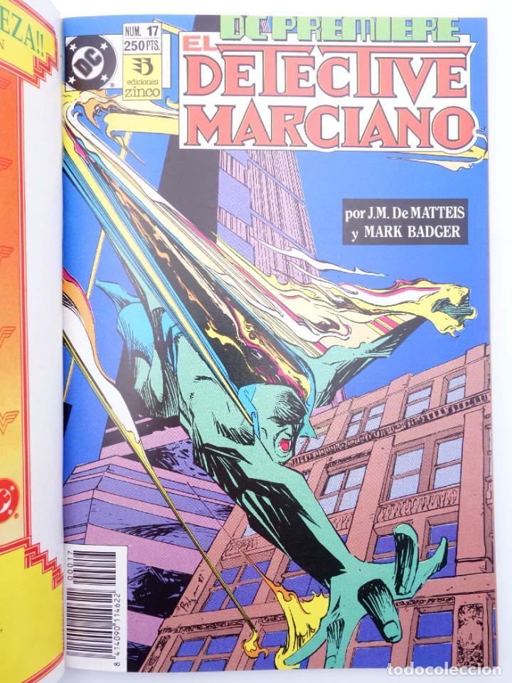 Cómics: DC PREMIERE RETAPADO NºS 10 17 18. FIRESTORM / DETECTIVE MARCIANO (Dematteis) Zinco, 1990. OFRT - Foto 3 - 267158899