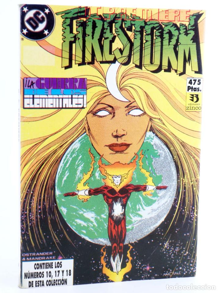 DC PREMIERE RETAPADO NºS 10 17 18. FIRESTORM / DETECTIVE MARCIANO (DEMATTEIS) ZINCO, 1990. OFRT (Tebeos y Comics - Zinco - Retapados)