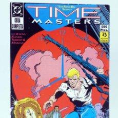 Cómics: TIME MASTERS, LOS AMOS DEL TIEMPO 1 A 8 COMPLETA. EN RETAPADO (WAYNE / SHINER) ZINCO, 1990. OFRT. Lote 267158954