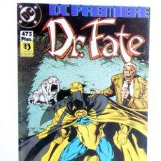 Cómics: DC PREMIERE RETAPADO NºS 4 5 6. DR. FATE (DEMATTEIS / MCMANUS) ZINCO, 1990. OFRT. Lote 267158959