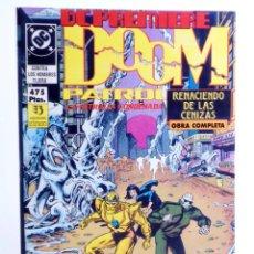 Cómics: DC PREMIERE RETAPADO Nº 14 15 16. DOOM PATROL PATRULLA CONDENADA (MORRISON / CASE) ZINCO, 1990. OFRT. Lote 267158964