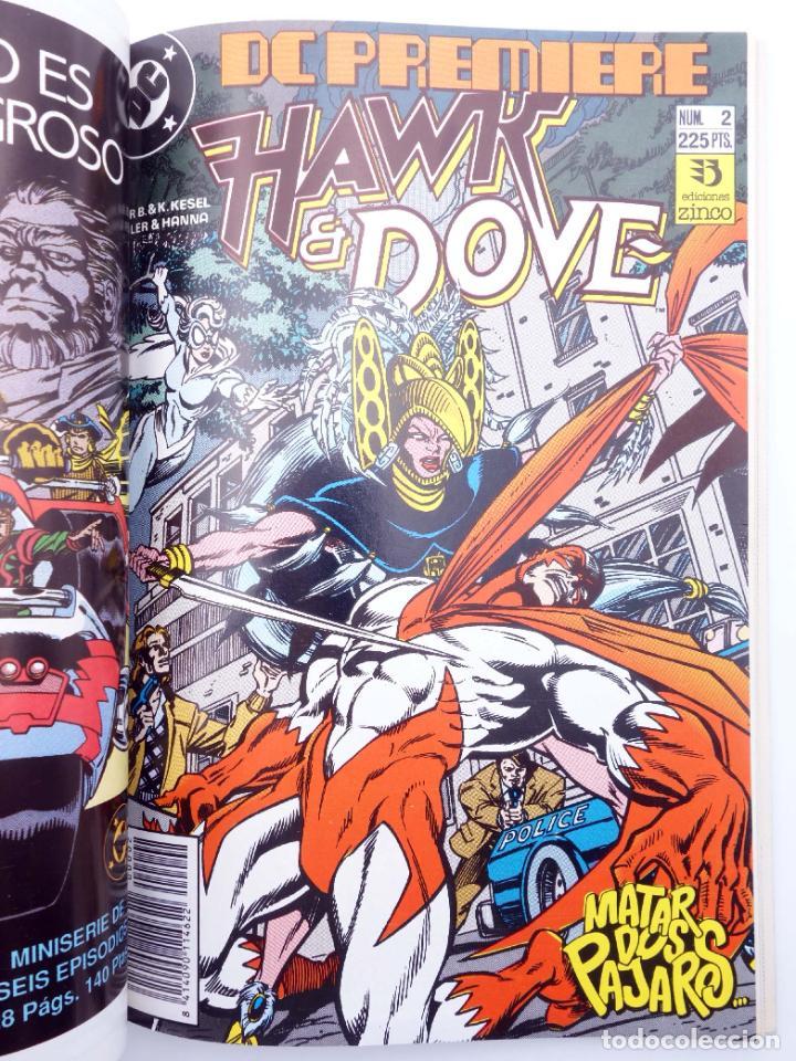 Cómics: DC PREMIERE RETAPADO NºS 1 2 3. HAWK & DOVE (Kesel / Guller / Hanna) Zinco, 1990. OFRT - Foto 3 - 267158969
