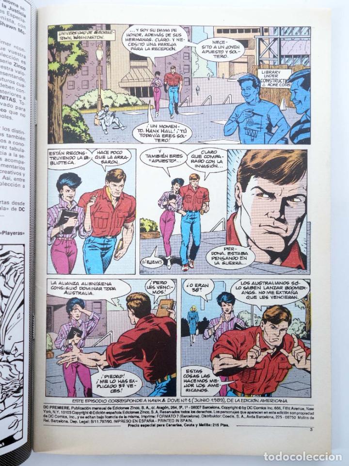 Cómics: DC PREMIERE RETAPADO NºS 1 2 3. HAWK & DOVE (Kesel / Guller / Hanna) Zinco, 1990. OFRT - Foto 5 - 267158969