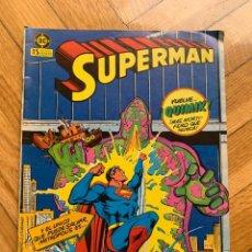 Cómics: SUPERMAN Nº 1. Lote 267344149