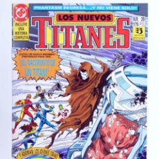 Cómics: LOS NUEVOS TITANES 39 (MARV WOLFMAN / TOM GRUMMETT) ZINCO, 1992. CON POSTER. OFRT. Lote 267429954