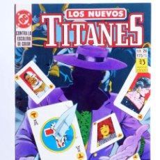 Cómics: LOS NUEVOS TITANES 26 (KESEL / ERWIN) ZINCO, 1991. OFRT. Lote 267429964