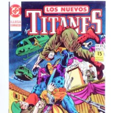 Cómics: LOS NUEVOS TITANES 27 (KESEL / WOLFMAN / ERWIN) ZINCO, 1991. OFRT. Lote 267429984