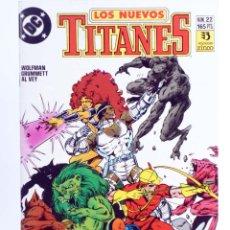 Cómics: LOS NUEVOS TITANES 22 (MARV WOLFMAN / TOM GRUMMETT) ZINCO, 1991. OFRT. Lote 267429989