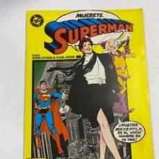 Cómics: SUPERMAN. Nº 28.- MUERETE, SPIDERMAN. EDICIONES ZINCO / DC. Lote 267540579