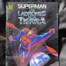 Cómics: SUPERMAN LOS LADRONES DE LA TIERRA -ZINCO. Lote 267544209
