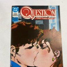 Cómics: QUESTION? Nº 12.- TIERRA VENENOSA. DC / EDICIONES ZINCO. Lote 267547069