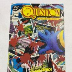 Cómics: QUESTION? Nº 10.- ¡TRANSFORMACION!. DC / EDICIONES ZINCO. Lote 267547189