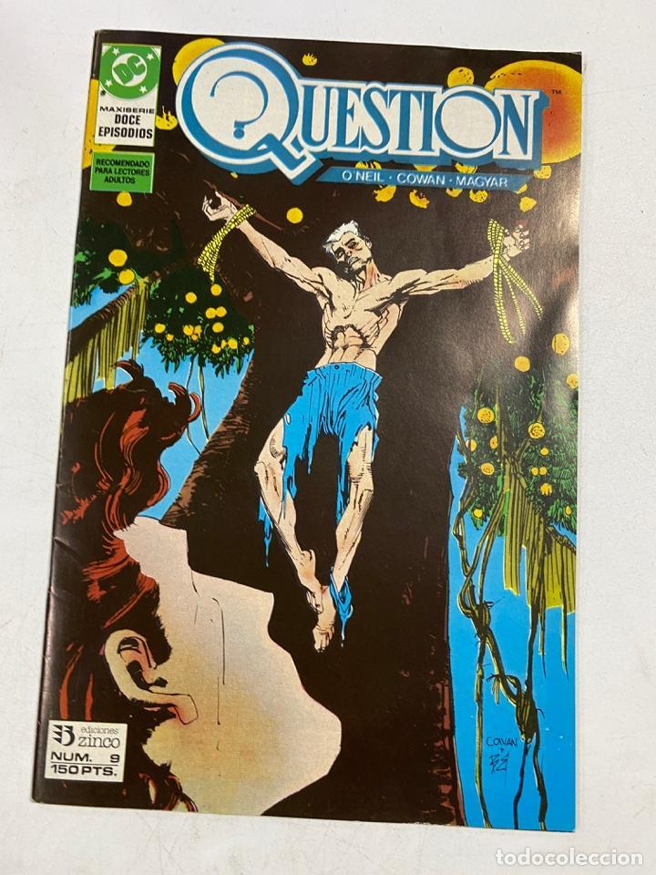 QUESTION? Nº 9.- MAXISERIE DOCE EPISODIOS. DC / EDICIONES ZINCO (Tebeos y Comics - Zinco - Question)