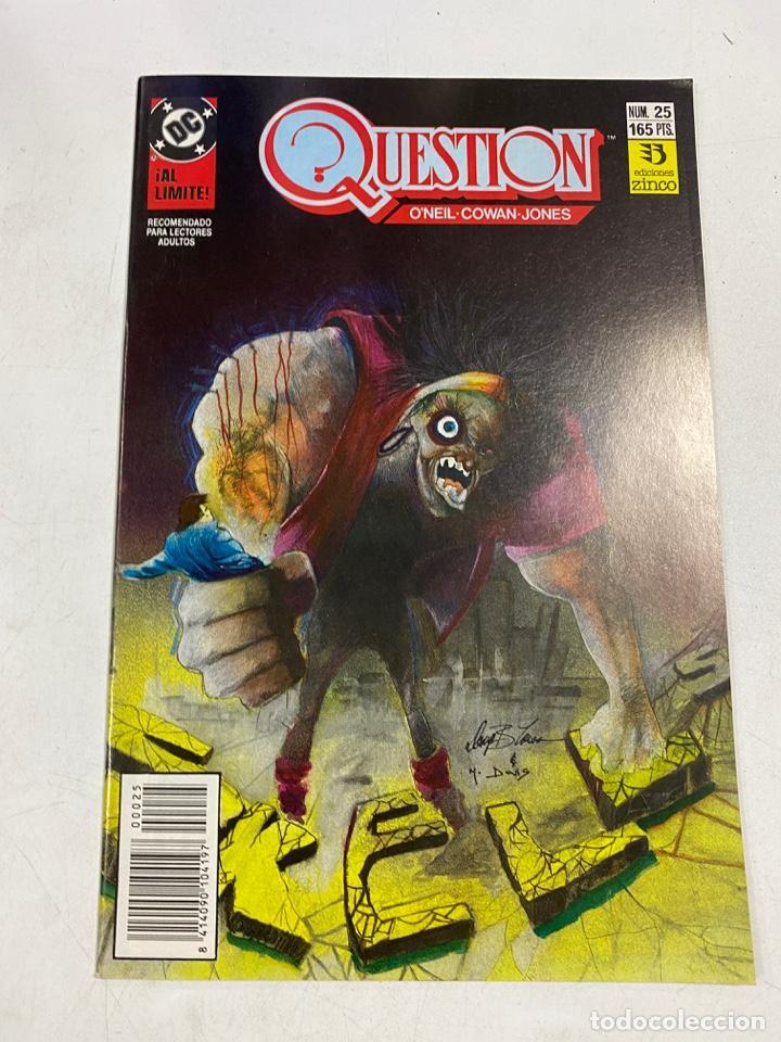 QUESTION? Nº 25.- SKELLS. DC / EDICIONES ZINCO (Tebeos y Comics - Zinco - Question)
