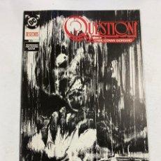 Cómics: QUESTION? Nº 21.- DESECHOS. DC / EDICIONES ZINCO. Lote 267547964