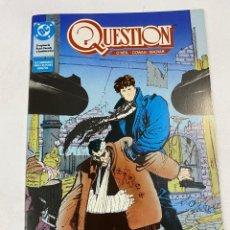 Cómics: QUESTION? Nº 16.- EL REGRESO DE BUTCH CASSIDY Y SUNDACE KID. DC / EDICIONES ZINCO. Lote 267548619