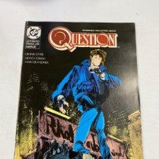 Cómics: QUESTION? Nº 15.- EPITAFIO PARA UN HEROE. DC / EDICIONES ZINCO. Lote 267548714
