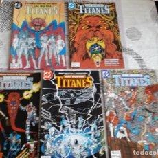 Cómics: LOS NUEVOS TITANES 33 COMICS AÑO 1984 EDICIONES ZINCO. Lote 267659924