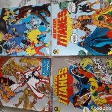 Cómics: NUEVOS TITANES 28 COMICS AÑO 1982 EDICIONES ZINCO. Lote 267665334