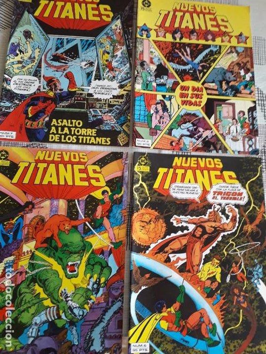 Cómics: NUEVOS TITANES 28 COMICS AÑO 1982 EDICIONES ZINCO - Foto 2 - 267665334