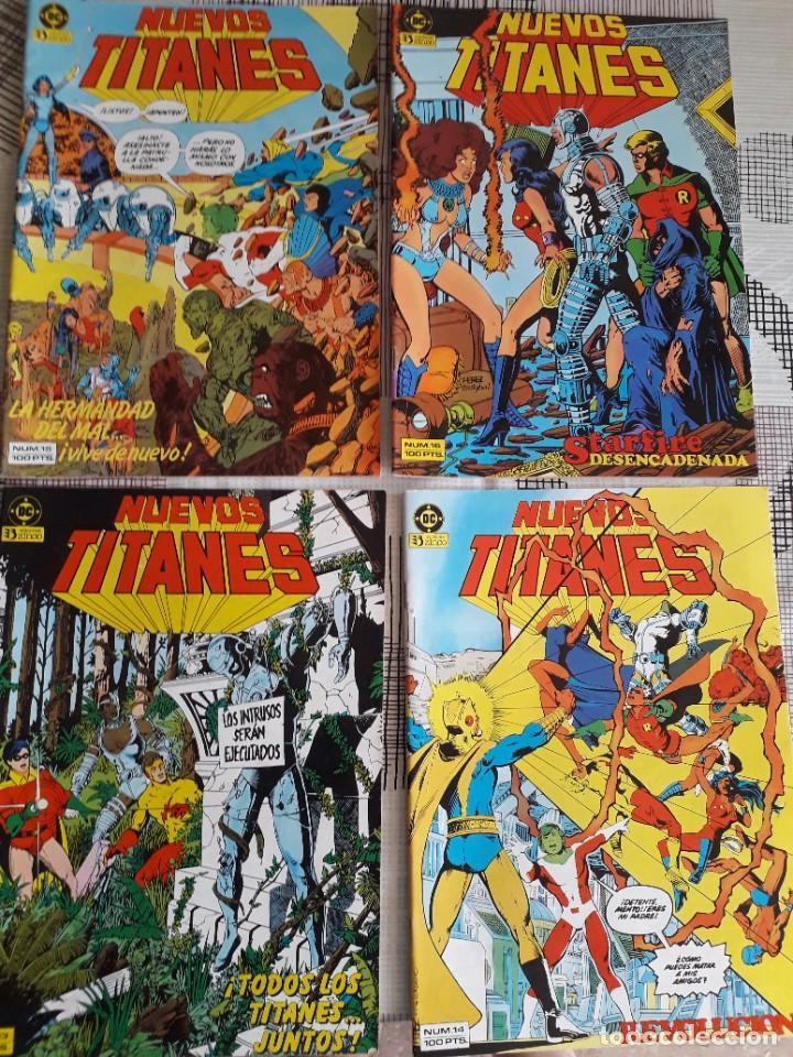 Cómics: NUEVOS TITANES 28 COMICS AÑO 1982 EDICIONES ZINCO - Foto 4 - 267665334