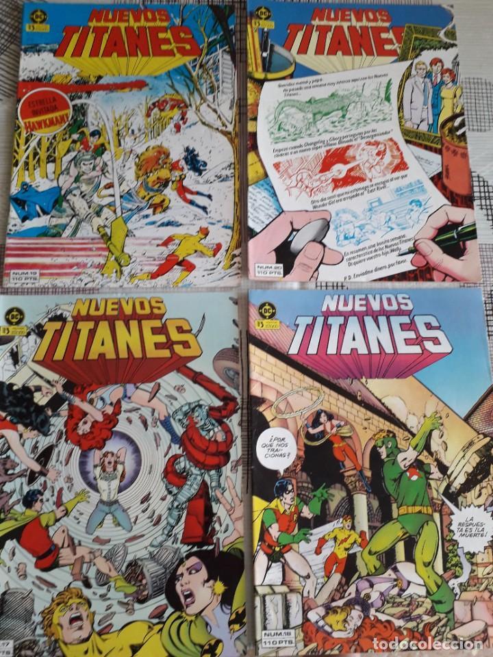 Cómics: NUEVOS TITANES 28 COMICS AÑO 1982 EDICIONES ZINCO - Foto 5 - 267665334