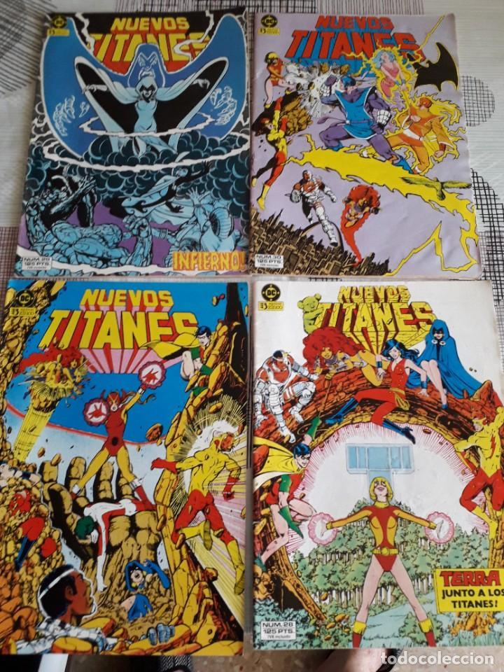 Cómics: NUEVOS TITANES 28 COMICS AÑO 1982 EDICIONES ZINCO - Foto 7 - 267665334