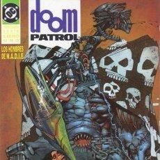 Cómics: DOOM PATROL, LOS HOMBRES DE NADIE - ZINCO 1994 - COMPLETA 2 TOMOS. Lote 267685379