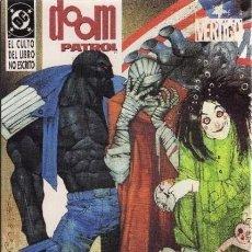 Cómics: DOOM PATROL, EL CULTO DEL LIBRO NO ESCRITO - ZINCO 1994 - COMPLETA 2 TOMOS. Lote 267685439