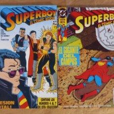 Cómics: SUPERBOY - ZINCO / COLECCIÓN COMPLETA EN DOS TOMOS RETAPADOS. Lote 267829004