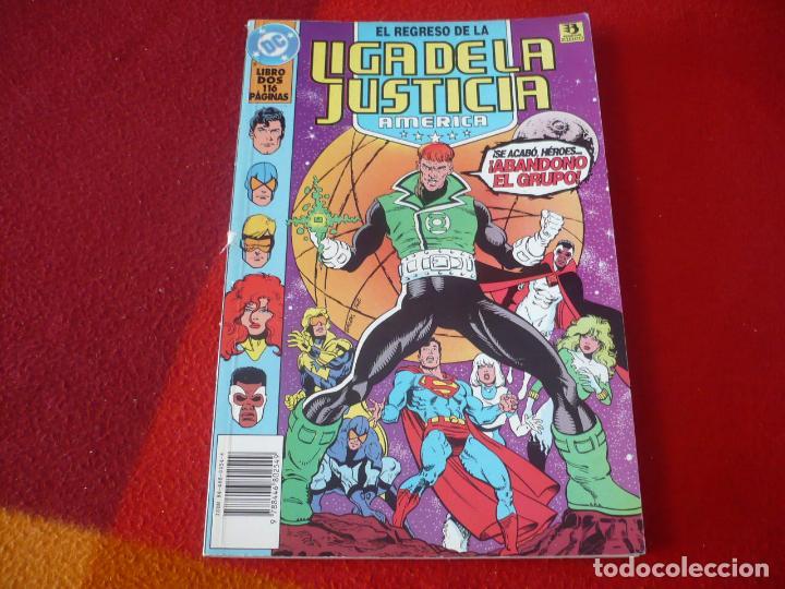EL REGRESO DE LA LIGA DE LA JUSTICIA AMERICA 2 ( JURGENS ) ZINCO DC JLA (Tebeos y Comics - Zinco - Liga de la Justicia)